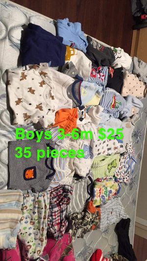 2 3/6m boy lot clothes. Both for $35 or $25 for each lot for Sale in Leeds, AL