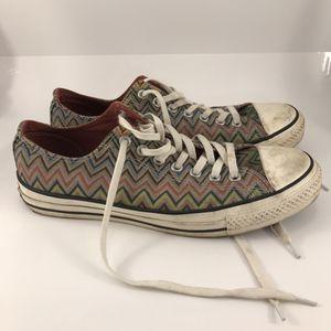 Converse x Missoni Sneakers Men's Size 9.5 for Sale in Anchorage, AK