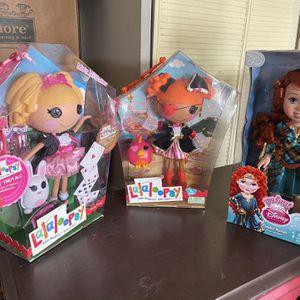 Lalaloopsy dolls & Merida 💕 for Sale in Long Beach, CA
