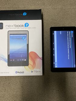 """NextBook 7"""" Tablet 16GB 7IN Model Android Tested Works for Sale in Richmond,  CA"""