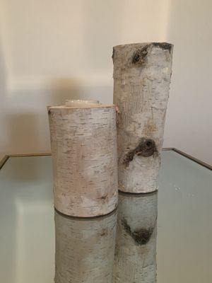 Decorative Birch Wood Candle Votive holders for Sale in UPPR MARLBORO, MD