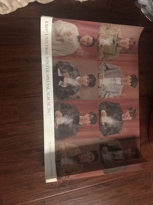 exo universe poster for Sale in Galt, CA