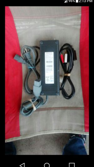 Xbox360 Power Supply, and Audio Video Cable for Sale in Nashville, TN
