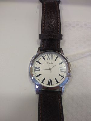 Timex men watch water resistant genuine leather band strap for Sale in San Jose, CA