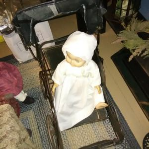 Vintage Black Baby Doll Buggy for Sale in Irwin, PA