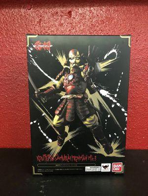 Iron Man figure avengers action figure Bandai samurai Manga realization for Sale in Sacramento, CA