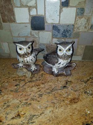 Owl decor porcelain for Sale in Las Vegas, NV