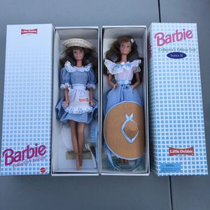 Vintage Barbie Little Debbie exclusive 1992 and 1995 Series 1 & 2 dolls. for Sale in La Mirada, CA