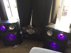 Samsung giga sound beat MC-HS9000 for Sale in Gorst, WA