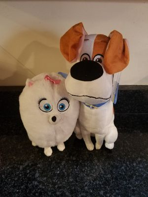 Secret life of pets 2 stuffed animal bundle for Sale in Hanover, MD
