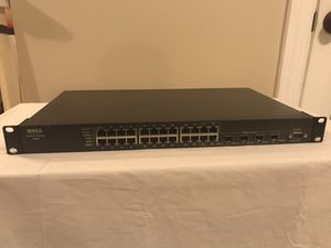 24-port Dell PowerConnect 5324 Gigabit Switch for Sale in Frederick, MD