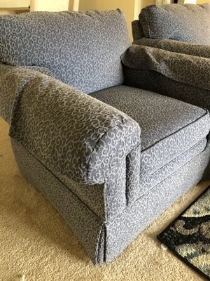 Highland house chairs with ottoman for Sale in Herndon, VA