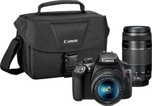 Canon EOS Rebel T6 DSLR camera w/ 2 lens & carrying case for Sale in Garland, TX