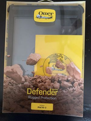 Otter box defender iPad Air 2 black for Sale in Sterling, VA