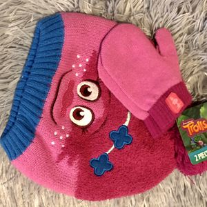 Trolls hat And Glove Set for Sale in Century, FL