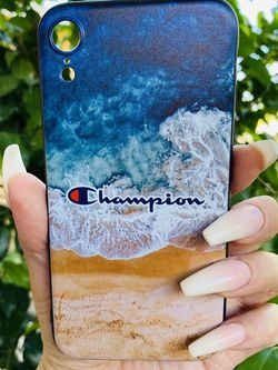 Brand new cool iphone XR case cover silicone rubber Champion Beach Hypebeast for Sale in San Bernardino,  CA