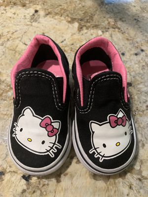 Hello kitty vans shoes for Sale in Anaheim, CA