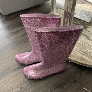 KomForme Womens Knee High Waterproof Rain Boots Glitter, Matte and Gradient, Glitter ... for Sale in Columbus, OH
