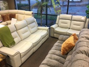 MODERN RECLINING SOFA AND LOVESEAT for Sale in Portland, OR
