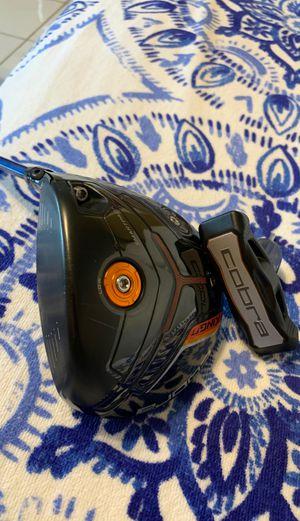 Kind Cobra F7 golf Driver with Tour AD YS Regular flex shaft Excellent condition for Sale in Fort Lauderdale, FL