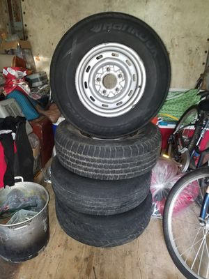 15 inch 5 lug rims and tires for Sale in US