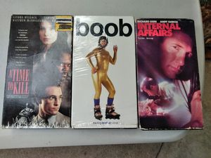 <3> VHS Movies For Free / Ready For Pick Up for Sale in Fullerton, CA