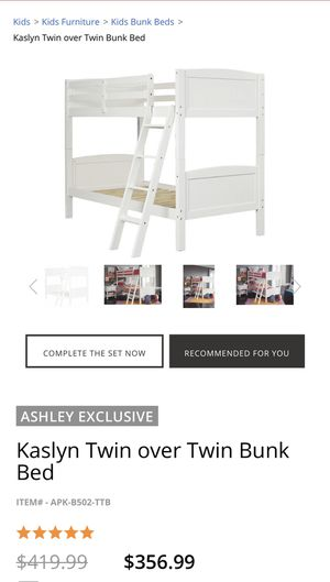 Ashley Furniture Bunk bed for Sale in Redwood City, CA