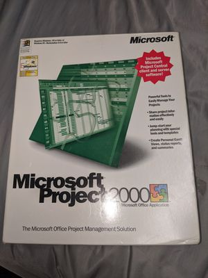 Microsoft project 2000 for Sale in Oklahoma City, OK