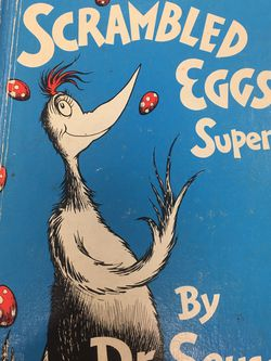 Scrambled Eggs Super! Dr. Seuss for Sale in Canton,  OH