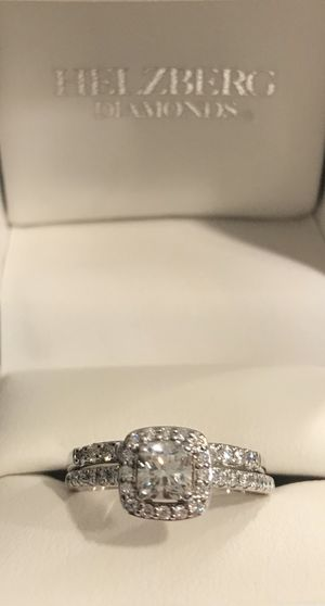 Engagement & Wedding Ring- Helzeberg Masterpiece Collection for Sale in Murrieta, CA