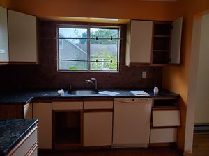 Kitchen cabinets with granite countertops! for Sale in Wyandanch, NY