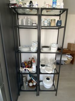 Metal and Glass Shelves for Sale in Los Angeles,  CA