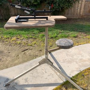 portable shooting table with rest for Sale in Fowler, CA
