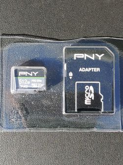 PNY 512 GB Micro SD Card for Sale in Perris,  CA
