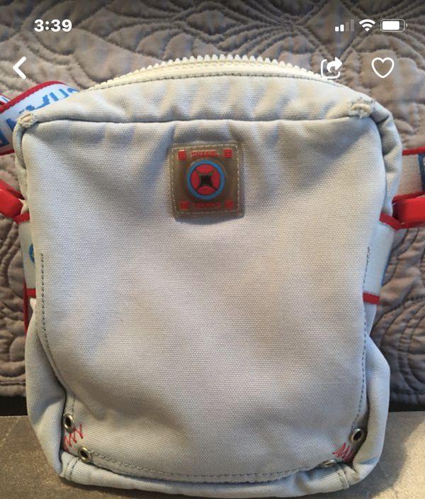 Chanel sports line camvass crossbody bag