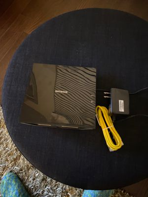 Netgear cable modem WiFi router combo C6250 for Sale in San Diego, CA