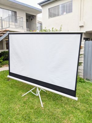 (Brand new!) 100 inch 16:9 tripod projector screen for Sale in Palos Verdes Peninsula, CA