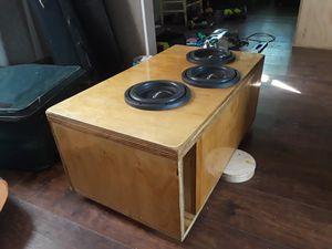 3 8s in custom box for Sale in Akron, OH