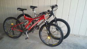 Two 26 in mountain bikes for Sale in Phoenix, AZ