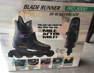 Blade runner by ROLLERBLADE. for woman . Size 7 1/2 or 8. You can have fun MILE AFTER MILE!!! Price $18. for Sale in Mission Viejo, CA