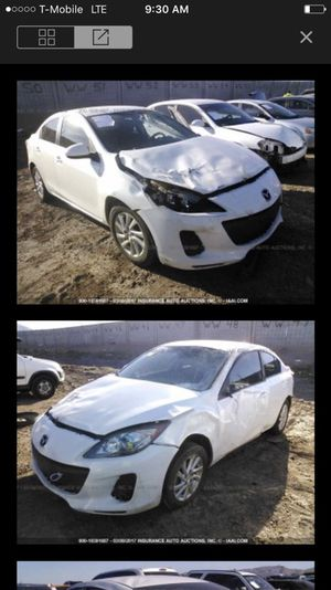 2012 Mazda 3 parting out!!! Parts only!!! for Sale in Phoenix, AZ