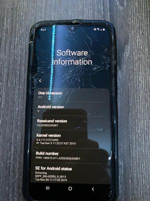 Samsung Galaxy A20 (Cracked Screen) for Sale in Dublin, CA