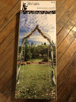 His & Hers Wedding Arch (Peaked) 7ft for Sale in Fort Worth, TX