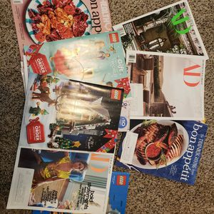 Free Magazines - Bon Appetit, Lego, & Architectural Digest for Sale in Pasadena, CA