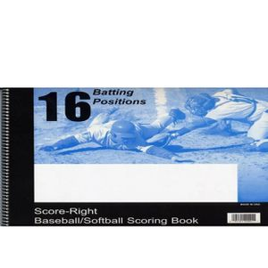 Score Right Baseball/Softball Scoring Book for Sale in East Cobb, GA