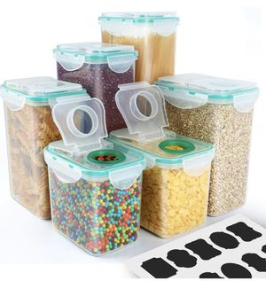 6-Pack VERONES Airtight Plastic Storage Containers for Sale in Gaithersburg, MD