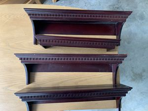 Dark Cherry Wall Shelves for Sale in Coral Springs, FL
