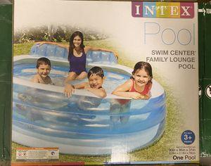 Intex Swim Center Family Lounge Pool for Sale in Rockville, MD