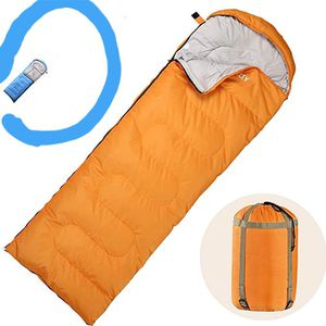 Envelope Camping Sleeping Bag, Great for 4 Season, Traveling Camping Hiking Outdoor Activities Waterproof color blue new for Sale in Silver Spring, MD