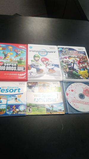 Wii games bundle for Sale in San Diego, CA